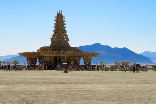 Temple at Burning Man 2017