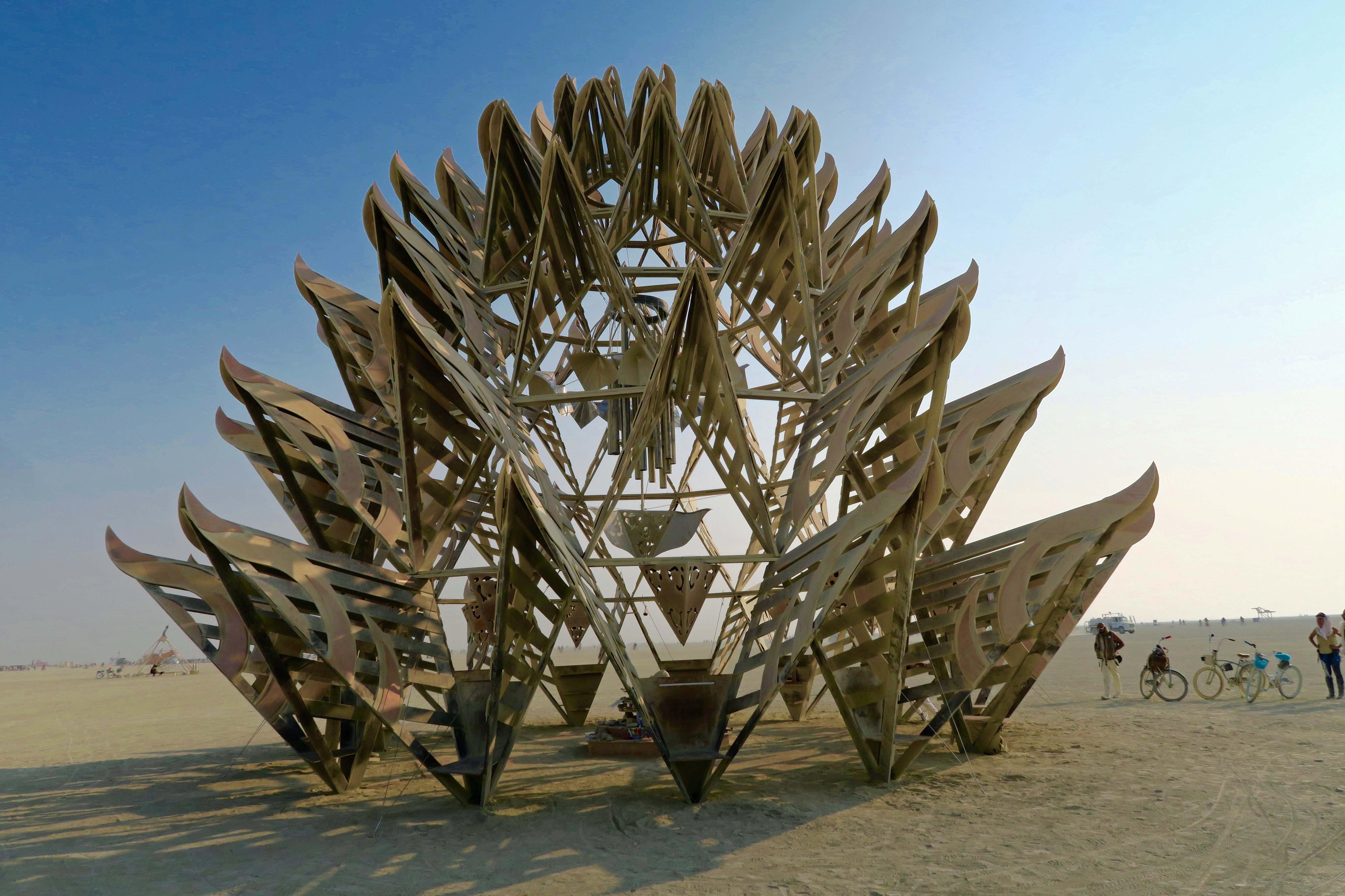 Temple of Awareness at Burning Man 2017