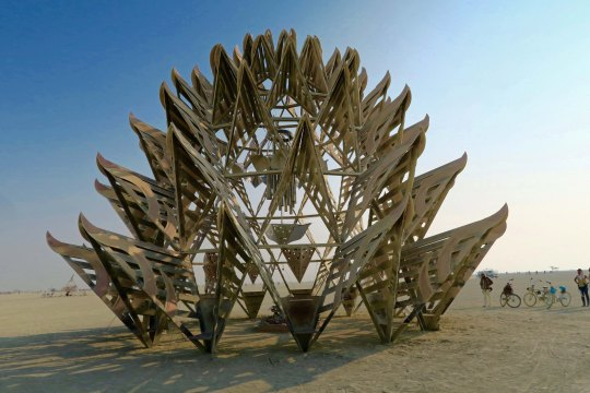 Temple of Awareness at Burning Man 2017