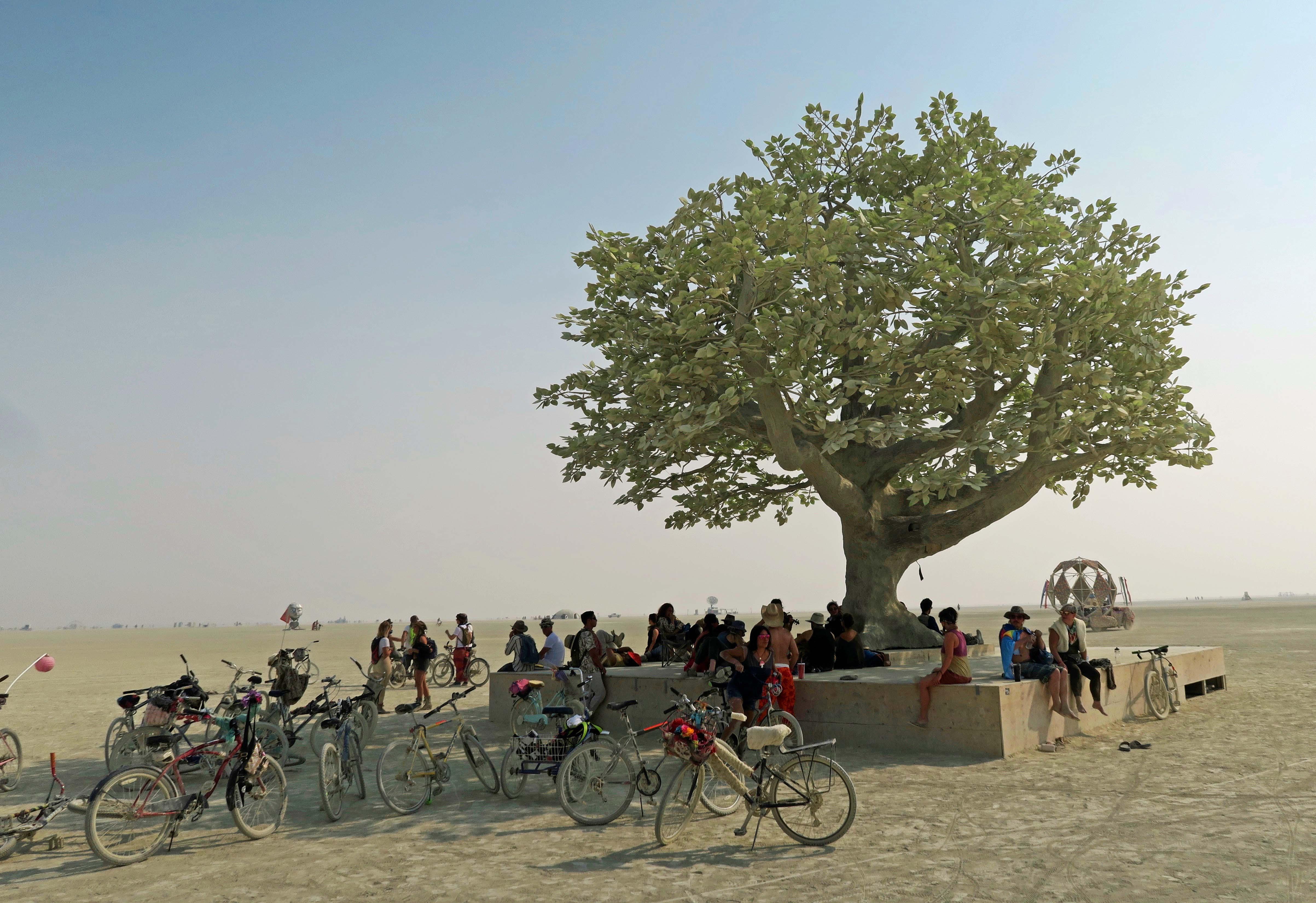 Tree of Ténéré at Burning Man 2017