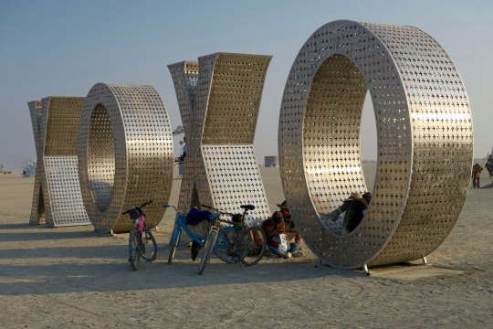 XOXO 3 Burning Man 2017