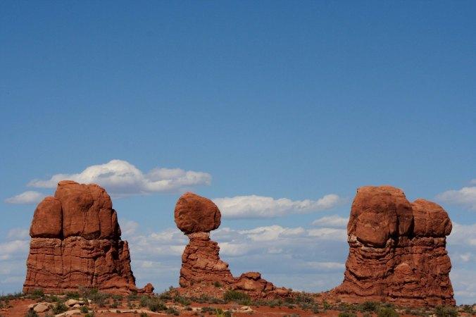 Balanced Rock scene, Arches NP
