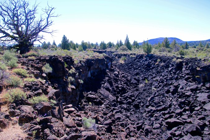 Collapsed Lava Tube at Lava Beds National Monument P4
