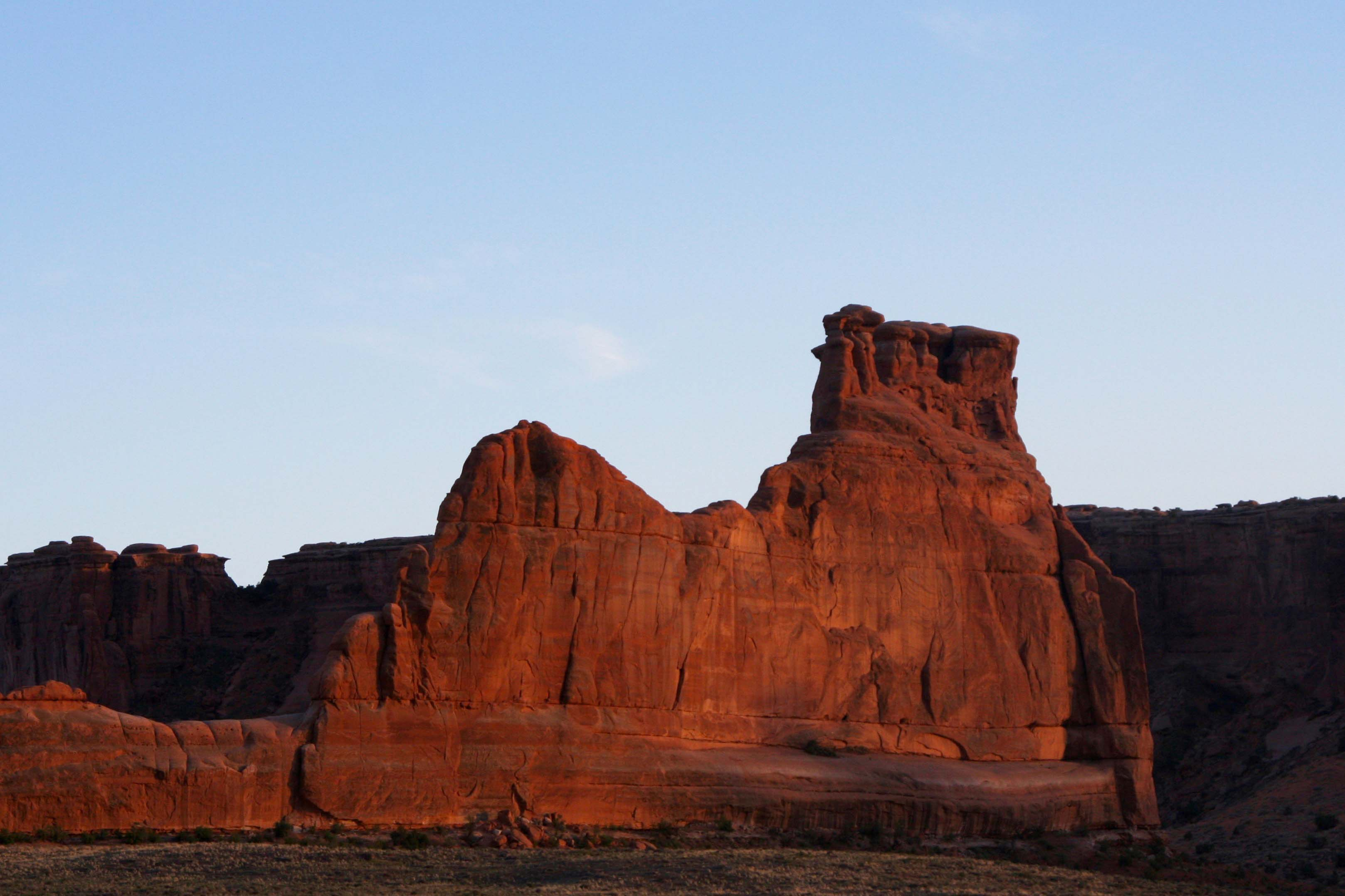 Courthouse rock, Arches NP
