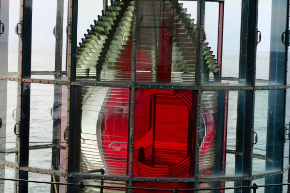 Fresnel Lens in Cape Meares Lighthouse