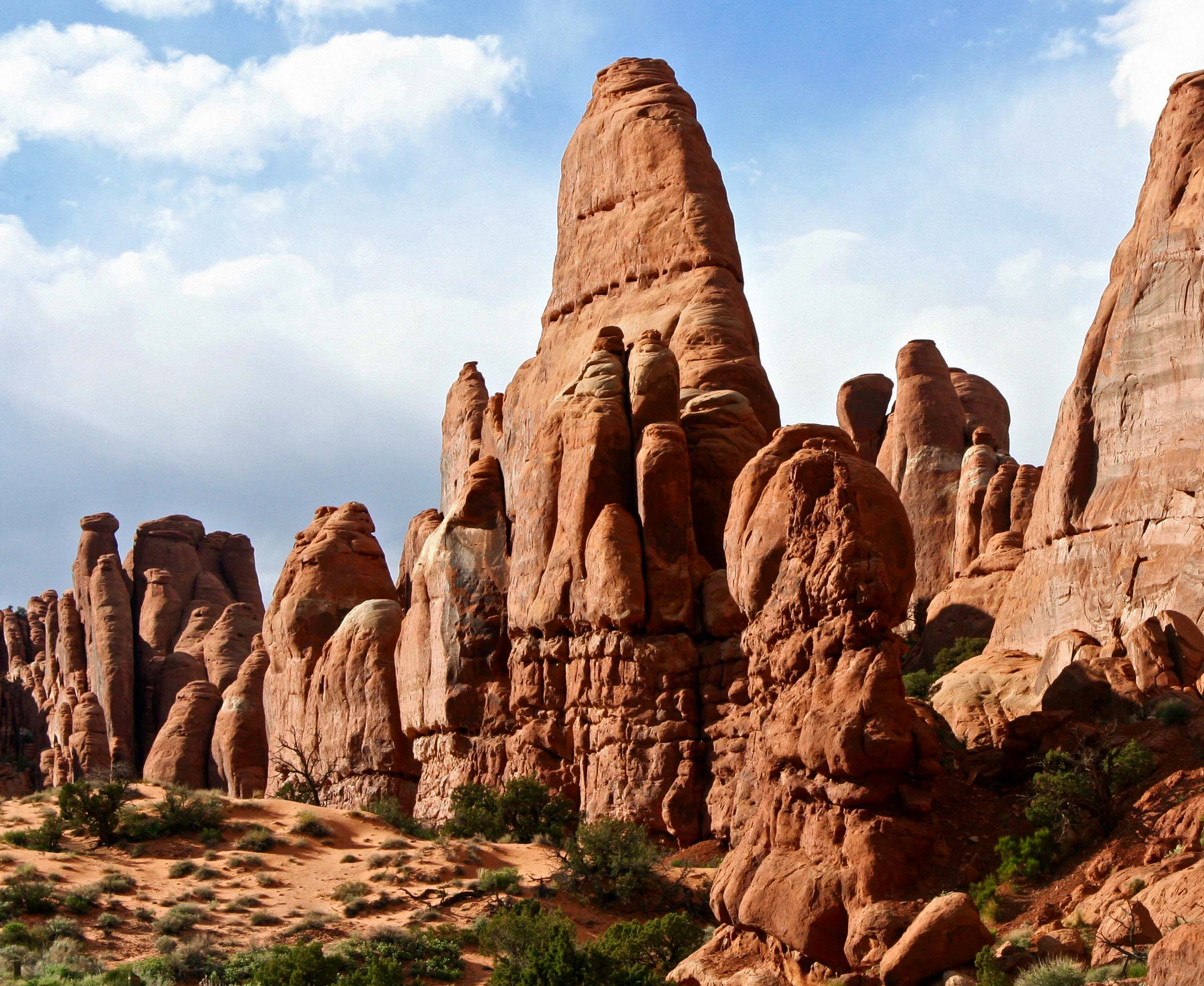Photos of Arches National Park by Curt and Peggy Mekemson.