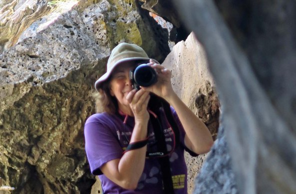 Peggy Mekemson at Lava Beds National Monument