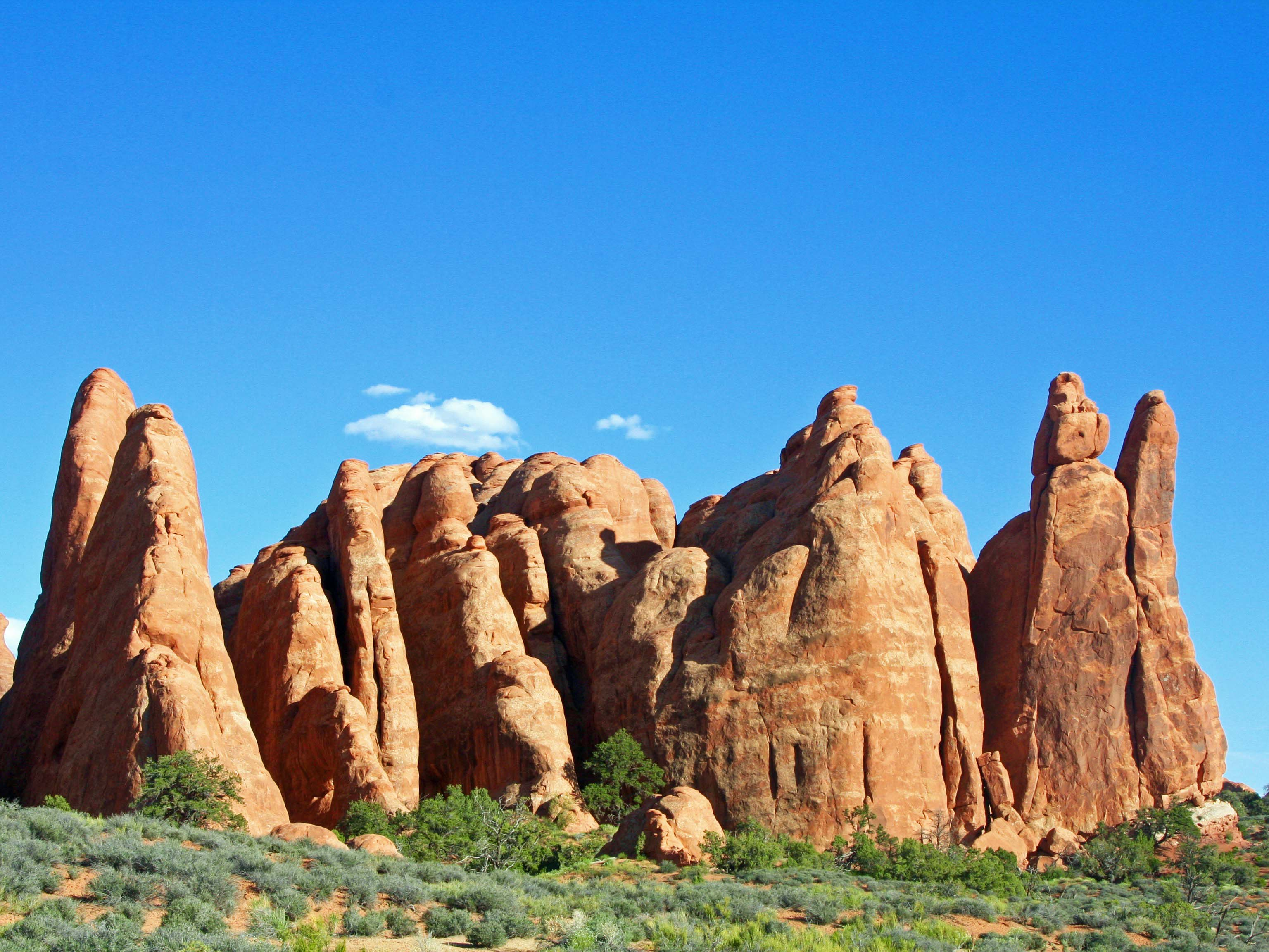 Photos of Arches National Park by Curt and Peggy Mekemson