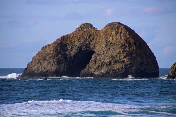 Three Rock Arches near Oceanside