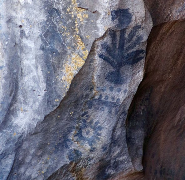 Tree Pictoglyph at Lava Beds National Monument P