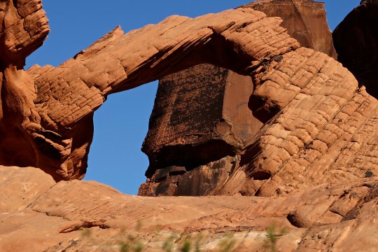 Arch at Valley of Fire State Park
