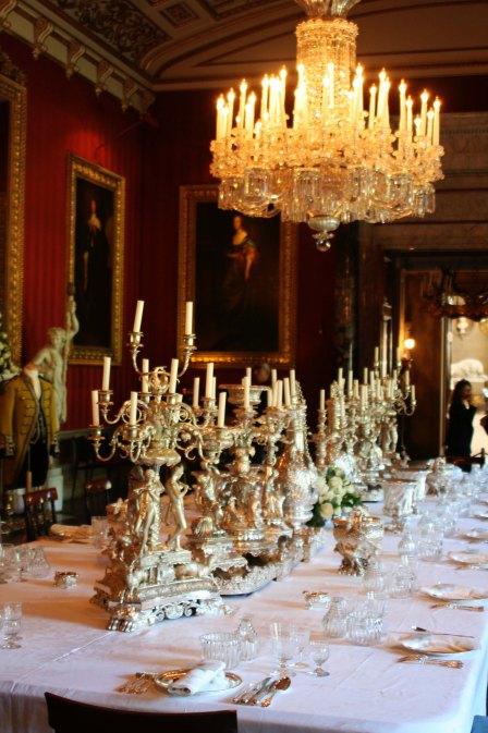 Candles at Chatsworth