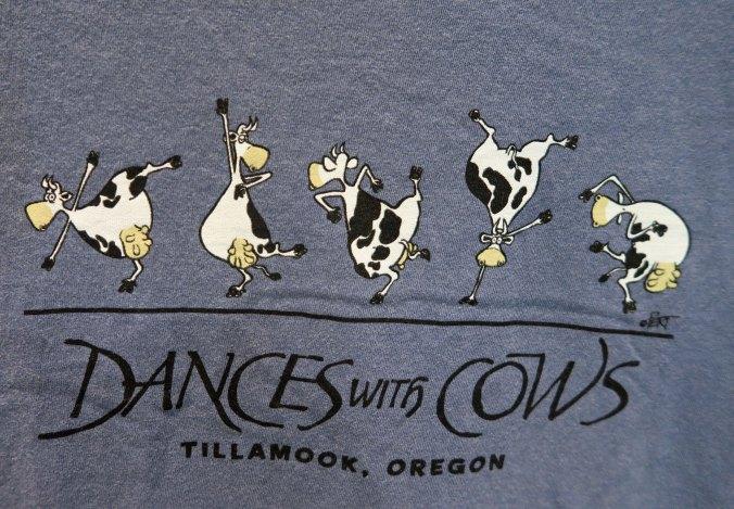 Cow T-shirt at Tillamook Cheese Factory