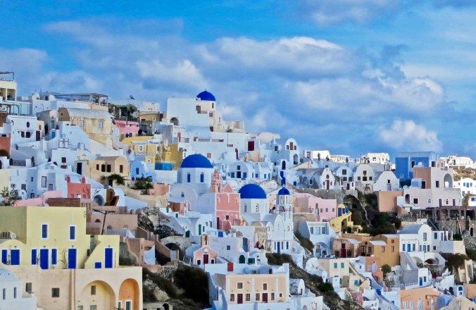 Final view of Santorini
