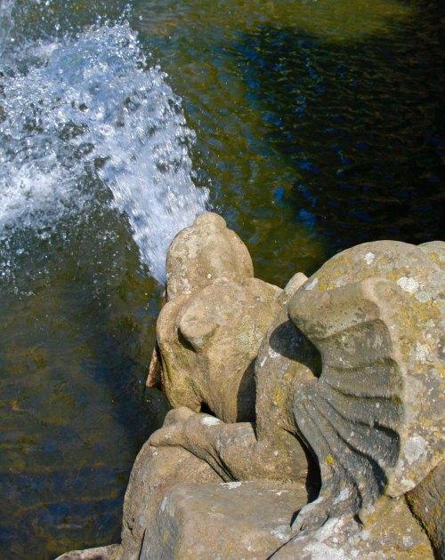 Gargoyle at Chatsworth