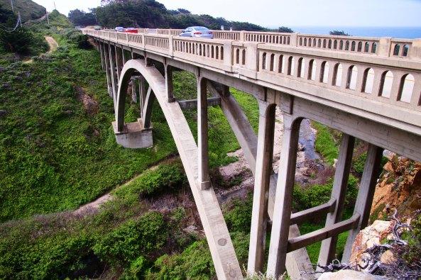 Iconic Big Sur Bridge