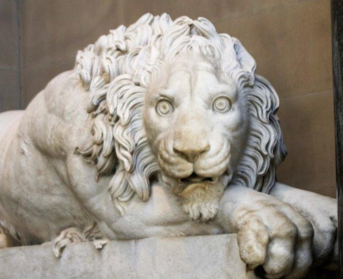Lion at Chatsworth