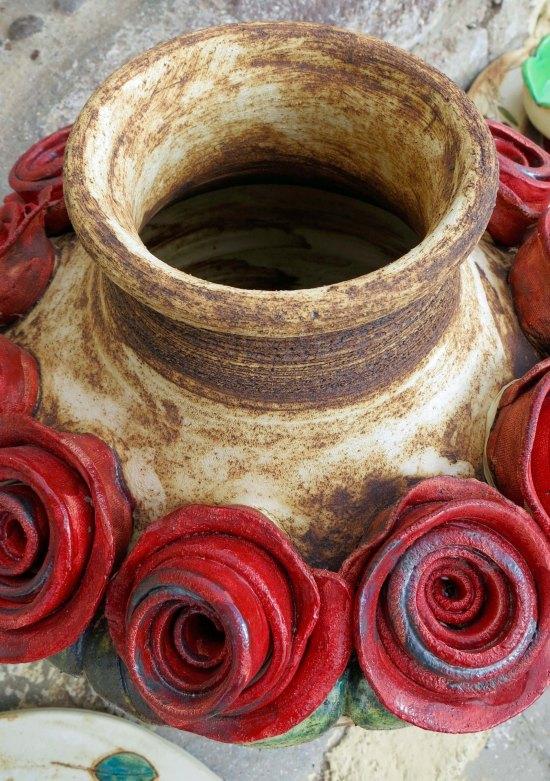 Pottery on Santorini