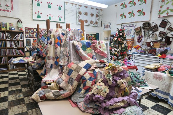 Quilts at Latimer Quilt and Textile Center