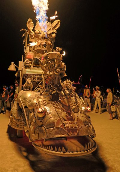 Rabid Express at Burning Man 2017