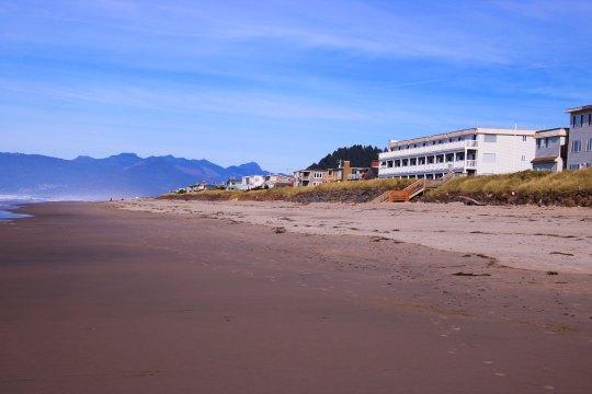 Rockaway Beach Oregon Beach