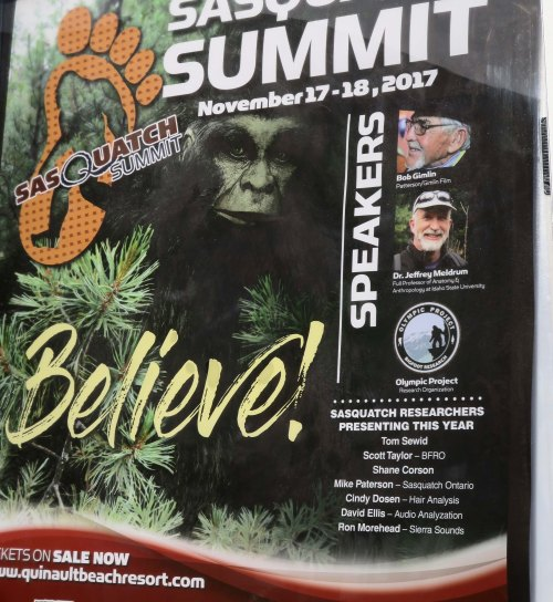 Sasquatch Conference poster