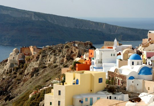 Scenery of Santorini