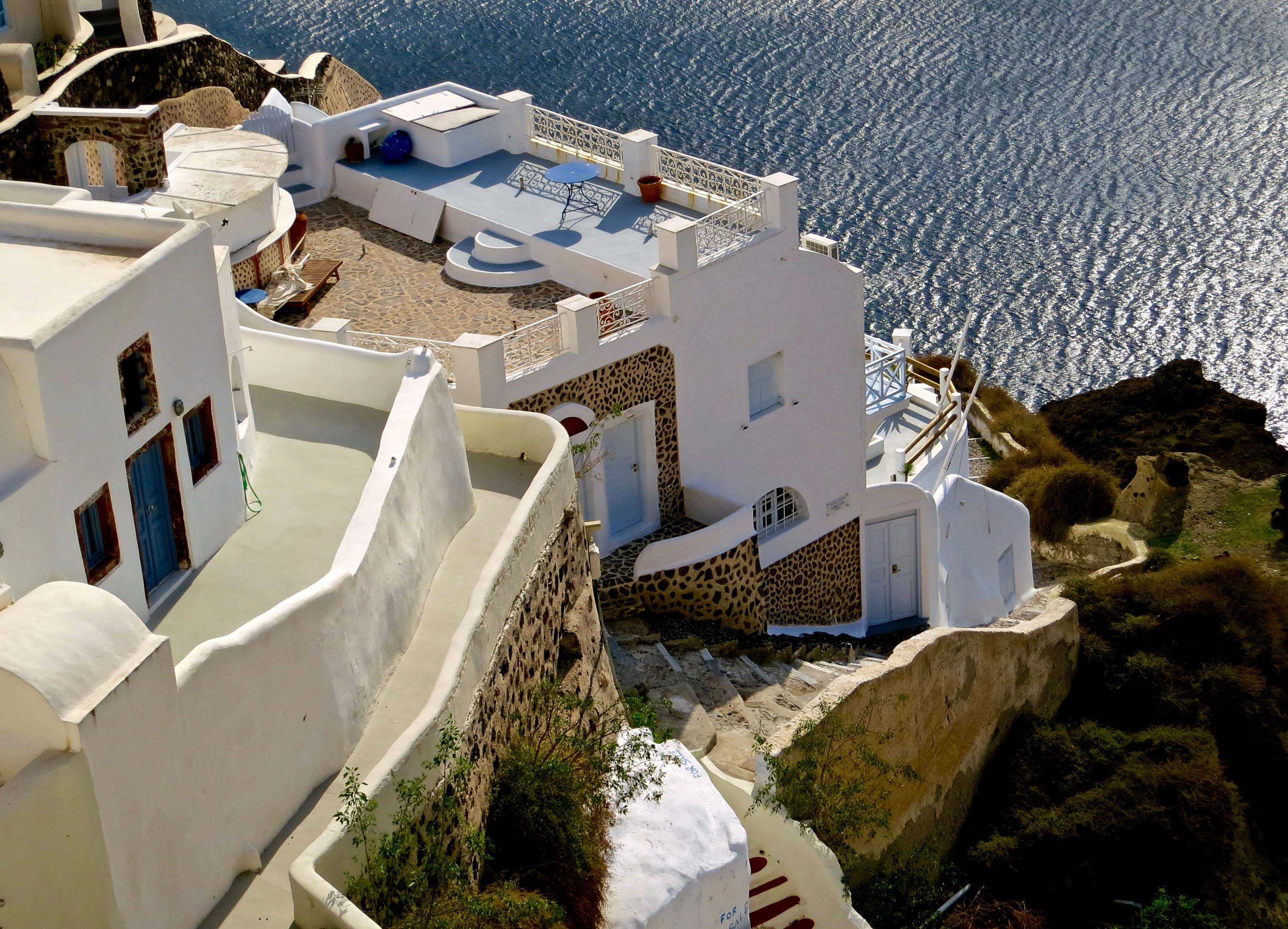 Santorini photo by Curtis Mekemson.