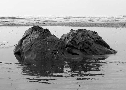 Twin rocks at Ruby Beach, Olympic National Park