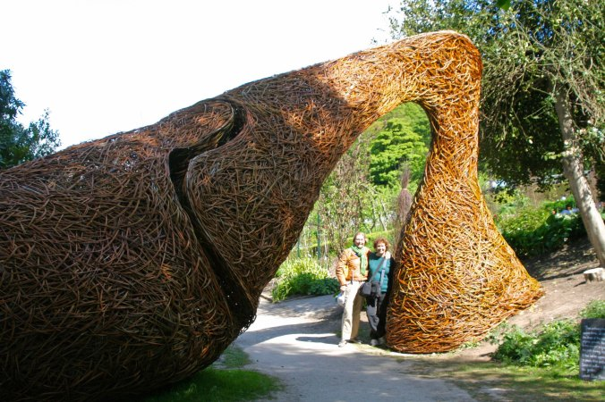 Woven forms at Chatsworth