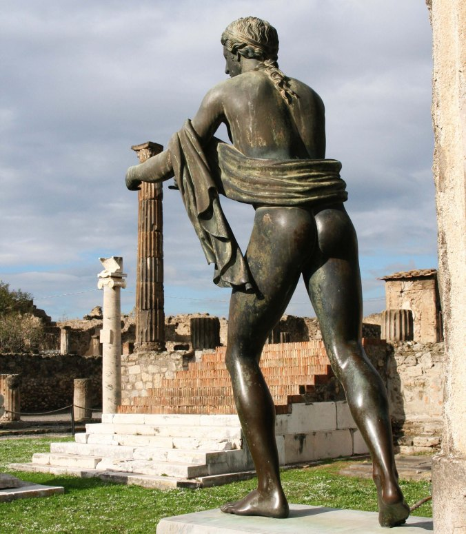 Apollo at Pompeii with his temple