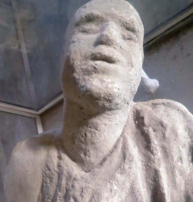 Buried alive in Pompeii