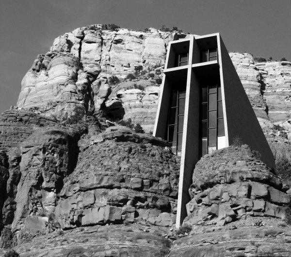 Chapel of Holy Cross in Sedona, Arizona photo taken by Curtis Mekemson