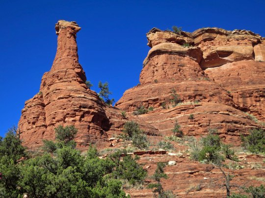 Capstone rocks in Boynton Canyon