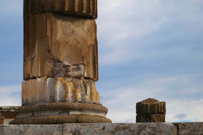 Column in Pompeii