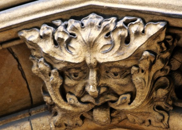 Gargoyle on St. Paul's church in Burton on Trent