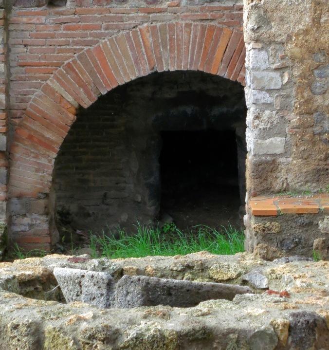 Bread oven in Pompeii