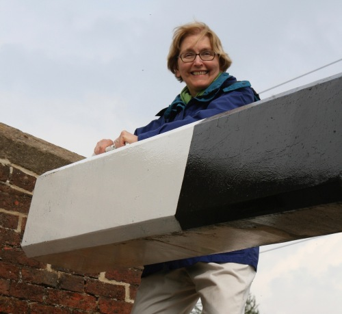 Jane Hagedorn works lock gates on Trent and Mercy Canal