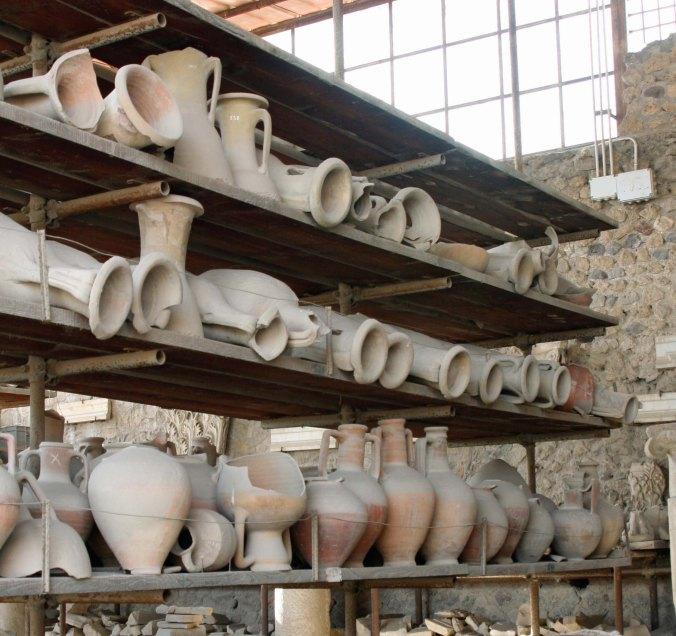 Jars at Pompeii