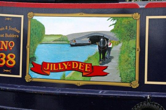 Jilly Dee Narrowboat