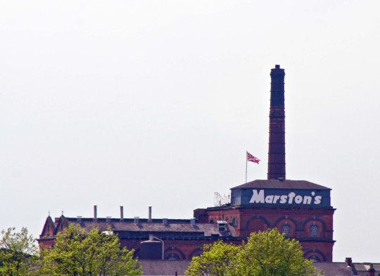Marston's brewery in Burton upon Trent