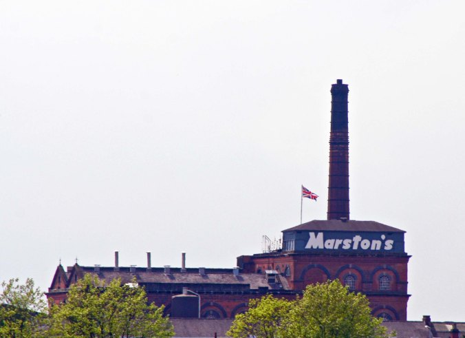 Marston's brewery in Burton upon Trent