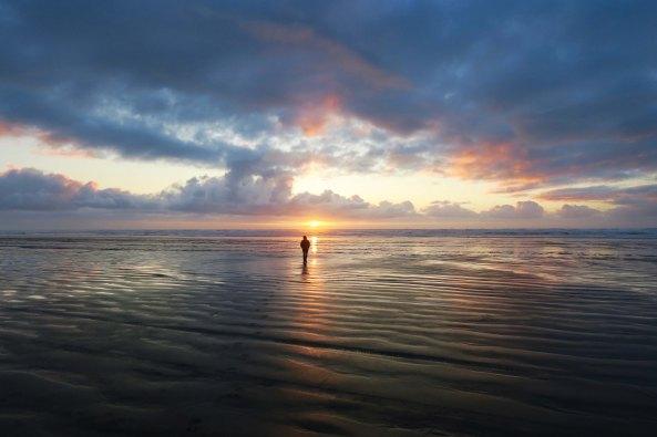 Peggy Mekemson at Copalis Beach