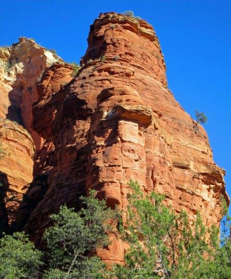 Red rock of Boynton Canyon near Sedona
