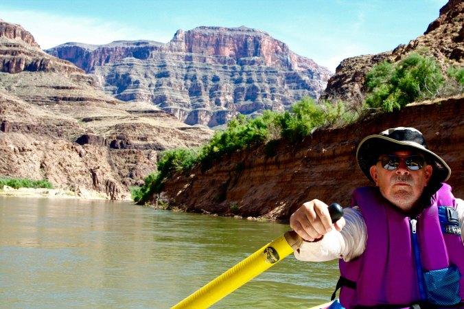 Rowing on the Colorado through the Grand Canyon