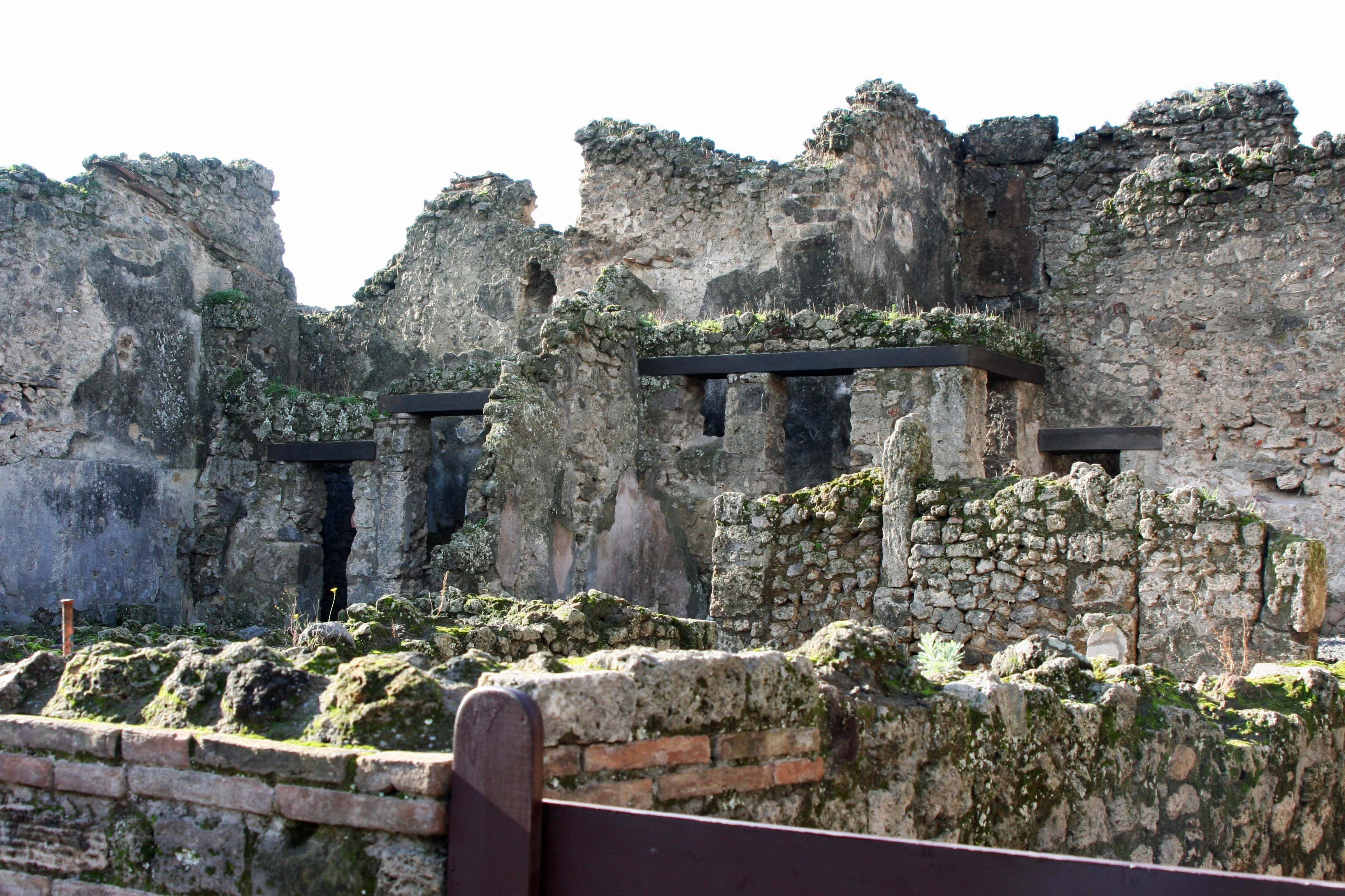 Ruins at Pompeii