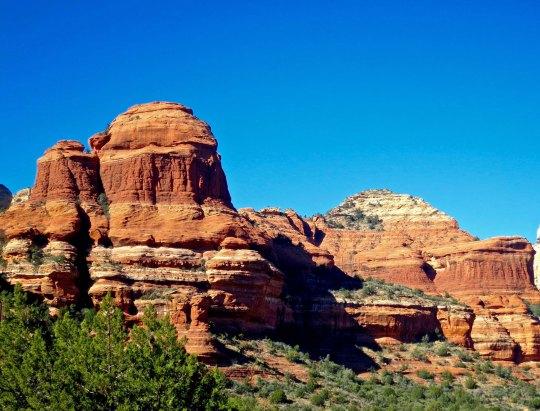 Sandstone formations in Boynton Canyon