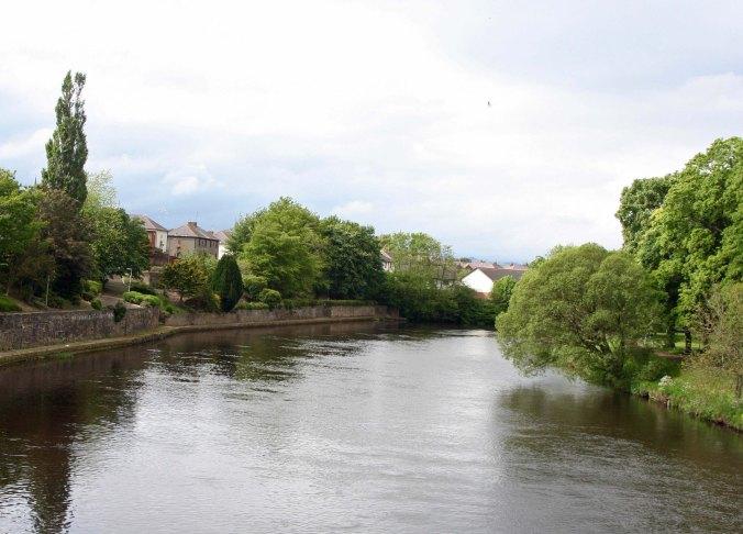 Scenic river in Scotland