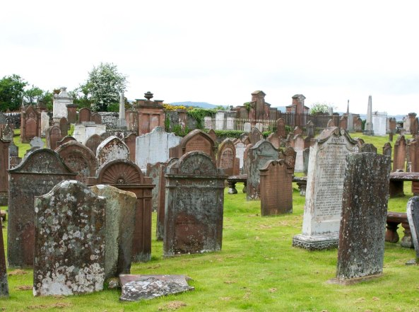 Scottish graveyard