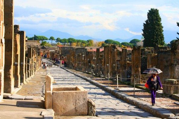 Street in Pompeii